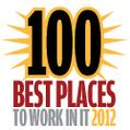 100 Best Places to Work in IT 2012
