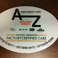 A to Z Appliance Repair Cincinnati's Logo
