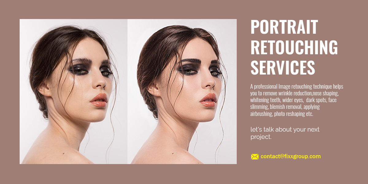 Portrait Retouching Services