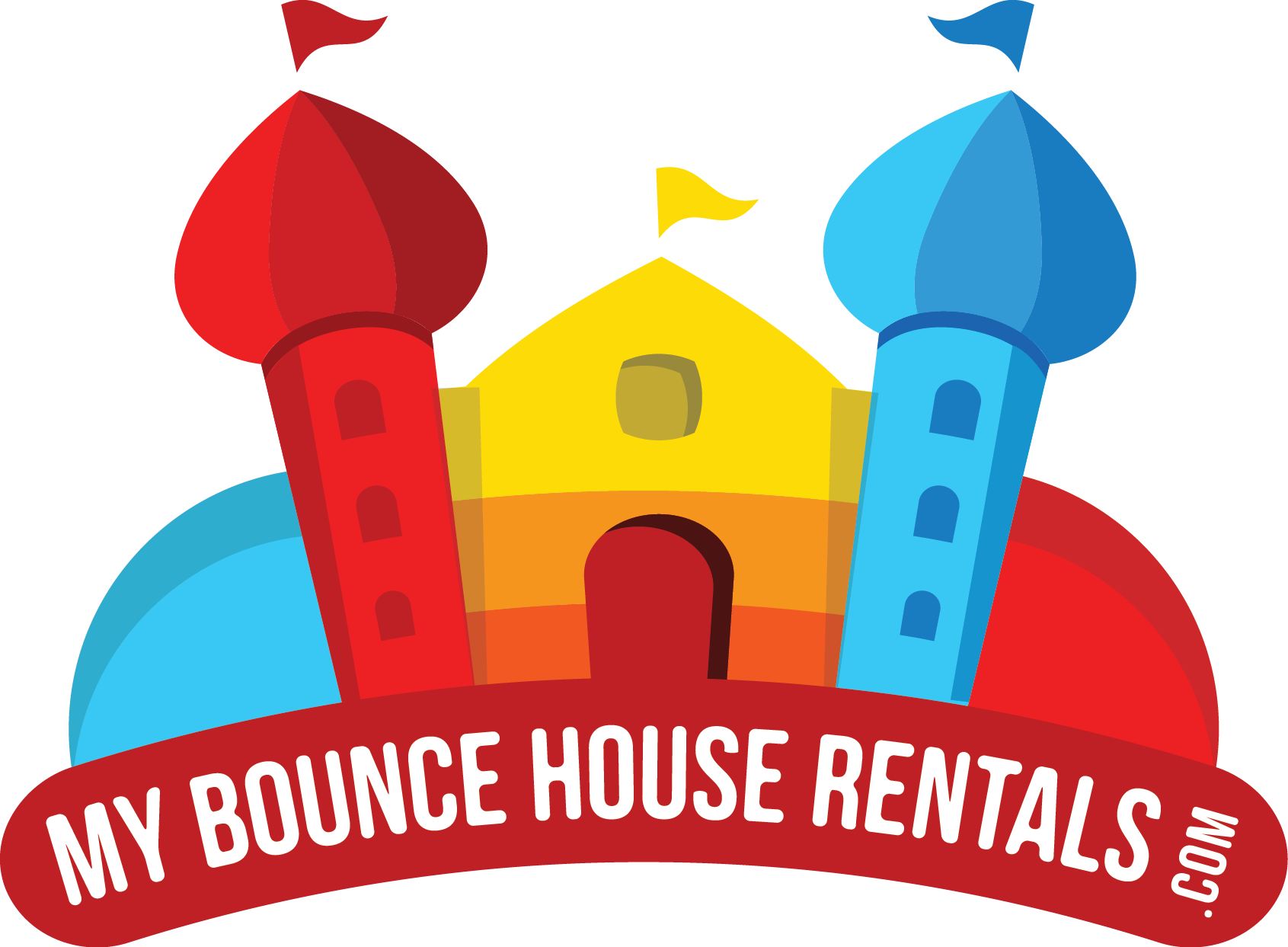 My bounce house rentals of Overland Park's Logo
