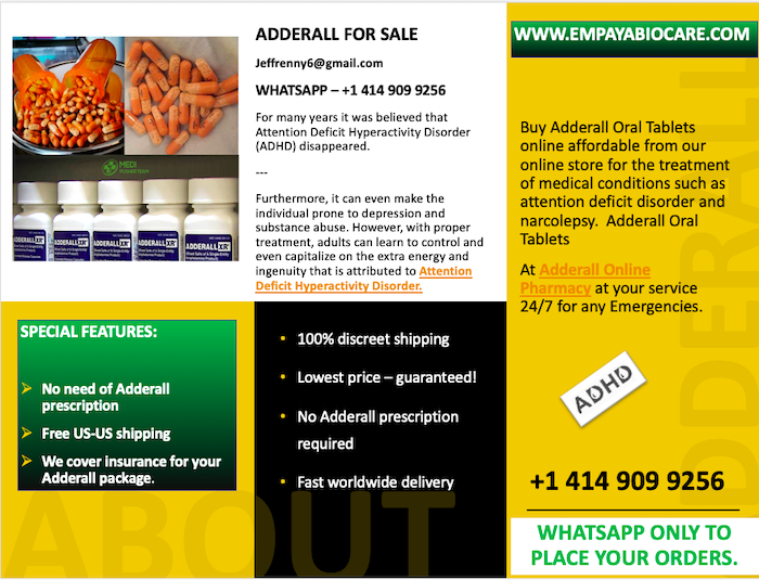 Adderall For Sale | +1 267 866 7876