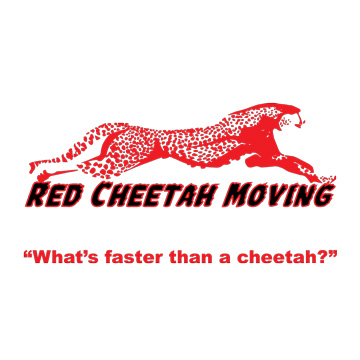Red Cheetah Moving's Logo