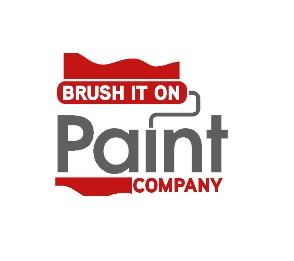 Brush It On Paint Company's Logo
