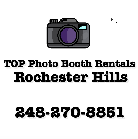 TOP Photo Booth Rentals Rochester Hills's Logo