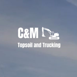 C&M Topsoil and Trucking's Logo