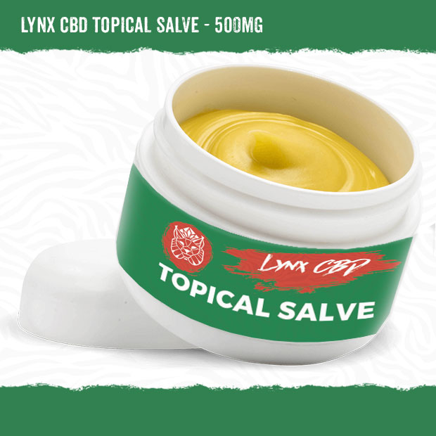 Topical CBD Salve 500mg ?Cannabidiol Ointment