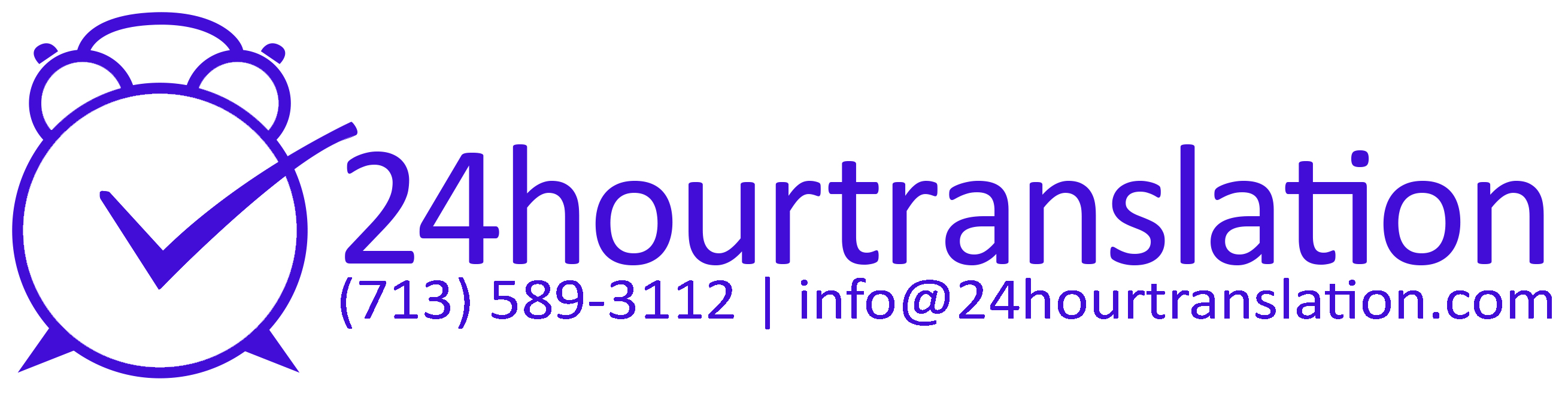 24 Hour Translation Services's Logo