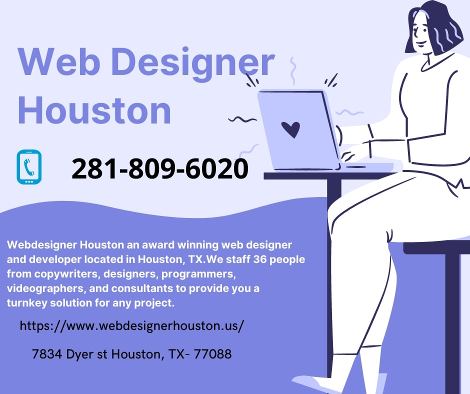 Web Design and Web Development with SEO friendly  Website design Company Houston