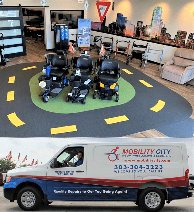 Electric Wheelchair| Rent, Repair | Mobility City Foothills CO