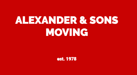 Alexander & Sons Moving