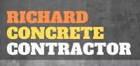 Richard Concrete Contractor's Logo