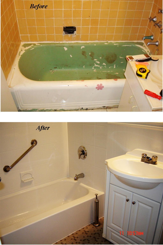 Ez bath freeport new york for Acrylic tub liner