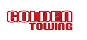 Golden Towing Houston's Logo