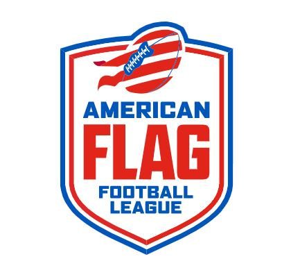 The American Flag Football League's Logo