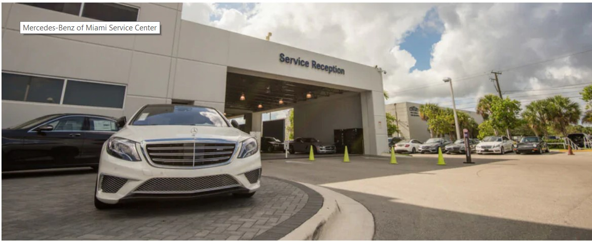 Mercedes-Benz of Miami Service Center's Logo