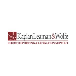 Kaplan, Leaman & Wolfe Court Reporters's Logo