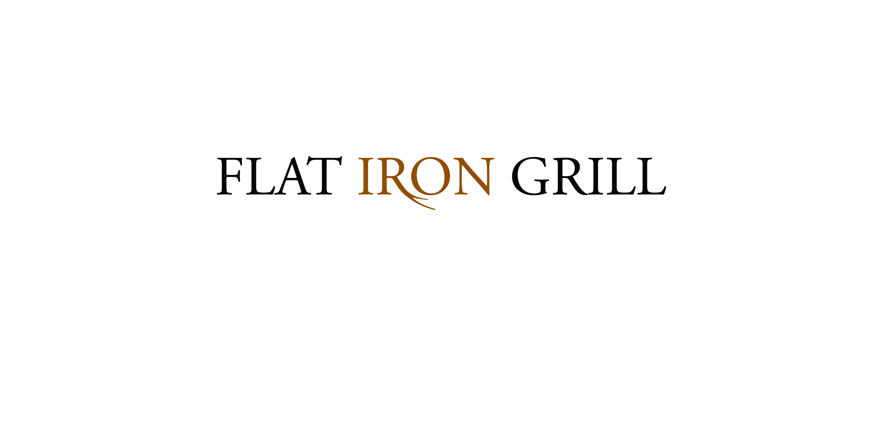 The Flat Iron Grill's Logo